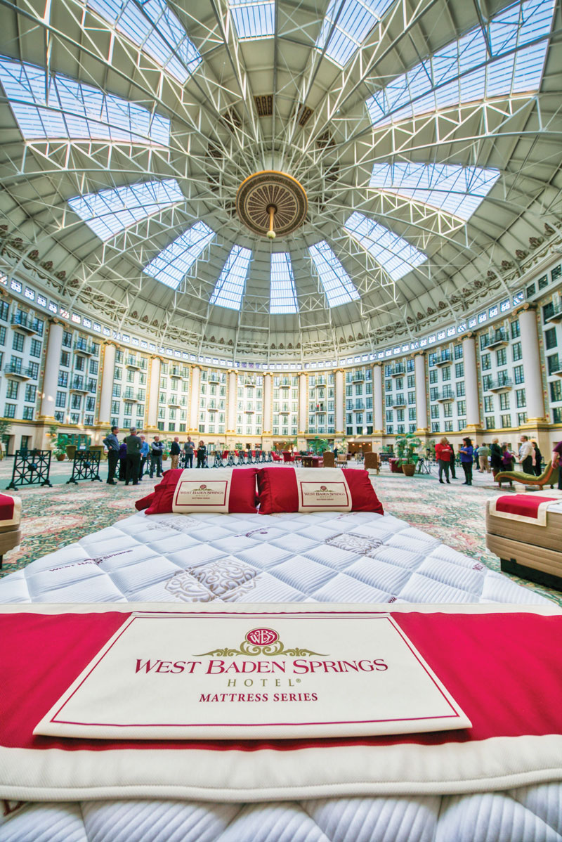 West Baden Springs Hotel >> West Baden Springs Hotel S Mattresses Head Into Homes Hb To Go